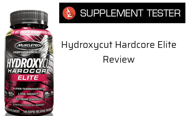 Hydroxycut Hardcore Elite Review