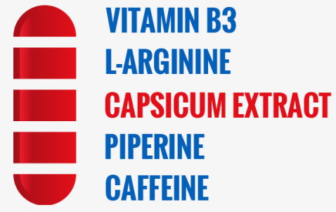 capsiplex sport supp facts