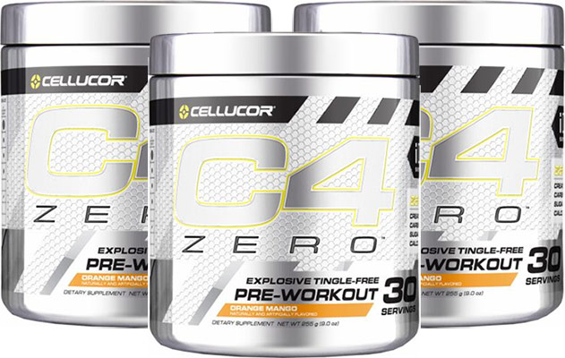 C4 Zero pre workout review