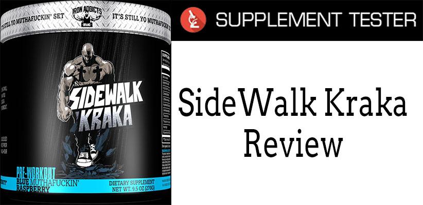 SupplementTester Sidewalk Kraka Review