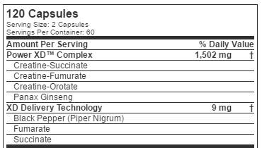 Power-xd-ingredient-list