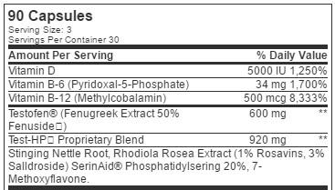 Test-HP-ingredient-lsit