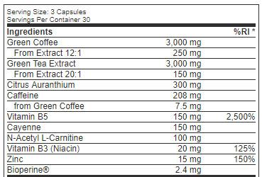 nutrilean-ingredient-list
