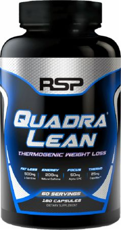RSP Nutrition QuadraLean Thermogenic bottle