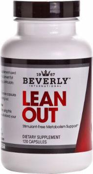 Lean Out bottle