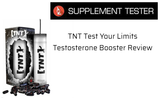 TNT Test Your Limits Testosterone Booster Review