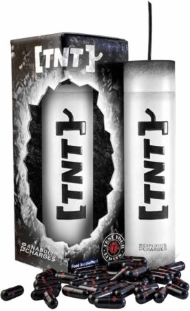 TNT Test Your Limits bottle and box