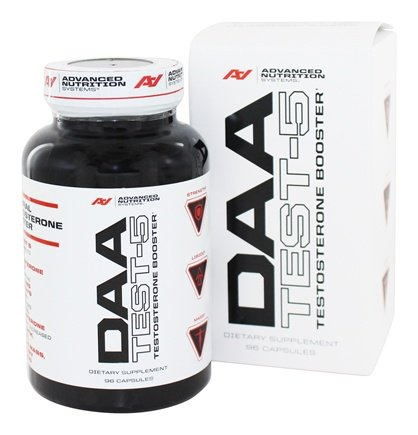DAA Test-5 bottle and box