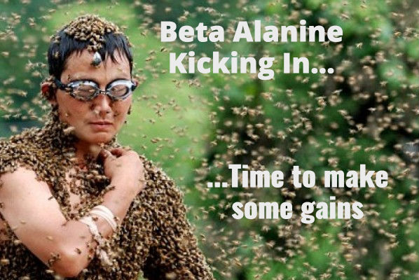 Beta Alanine itch