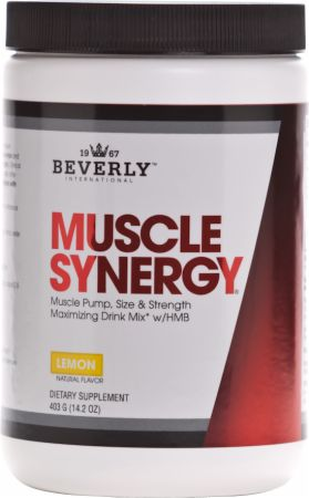 Beverly International Muscle Synergy bottle