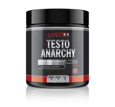 Matrix Nutrition Testo Anarchy bottle