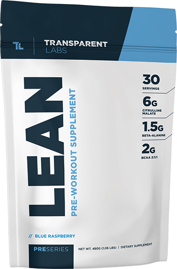 PreSeries Lean Pre-Workout pack