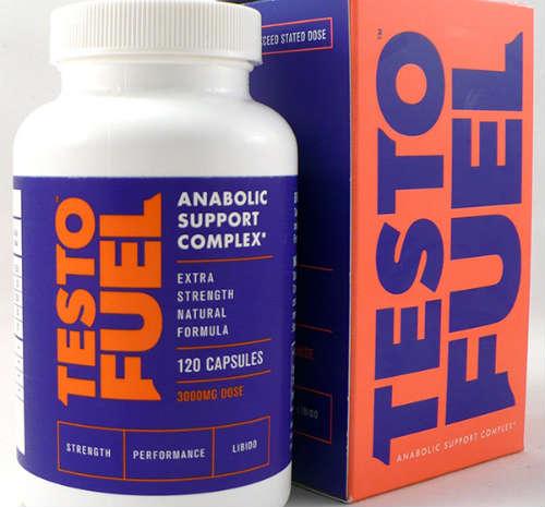 TestoFuel bottle and box