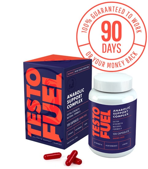 TestoFuel box bottle and 90 day trial