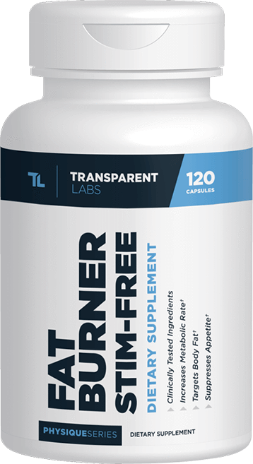 Transparent Labs Fat Burner Stim-Free bottle
