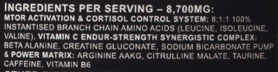 Warrior RAGE pre-workout ingredients