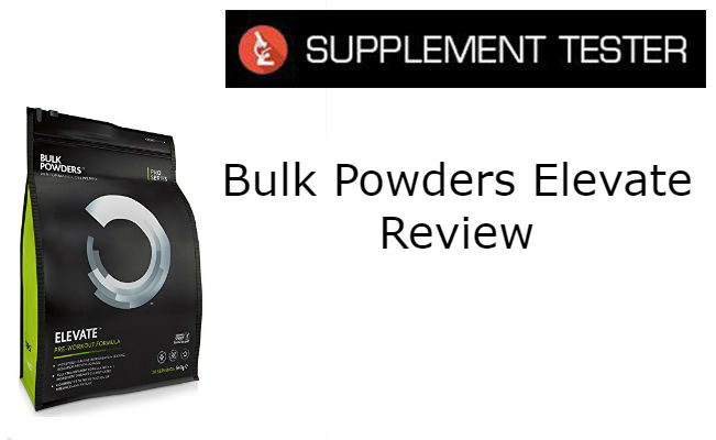 Bulk Powders Elevate Review