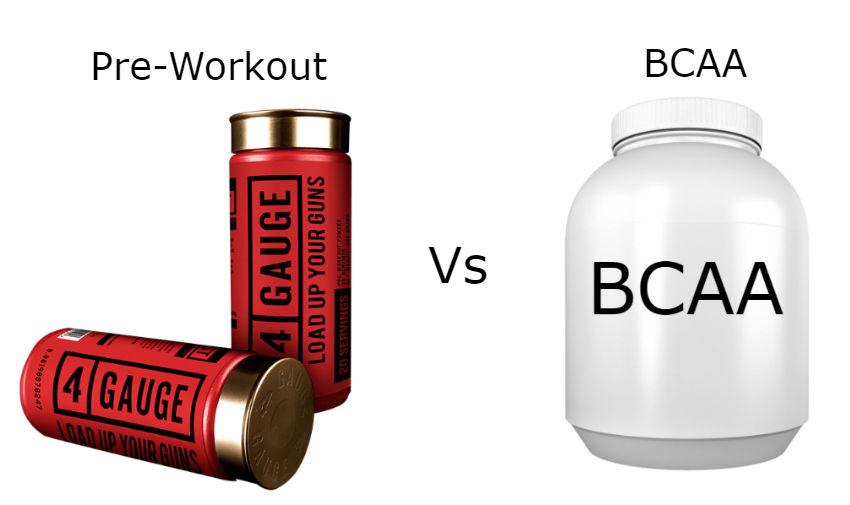 Pre-Workout Vs BCAA