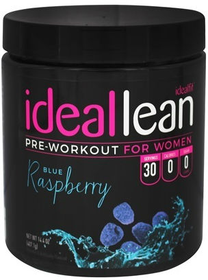 Ideallean Pre-Workout bottle big