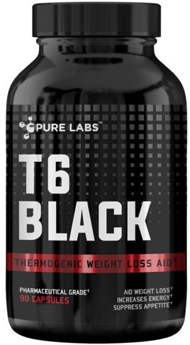 Pure Labs T6 Black bottle