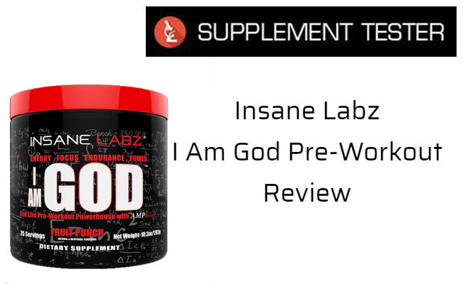 I Am God Pre-Workout Review